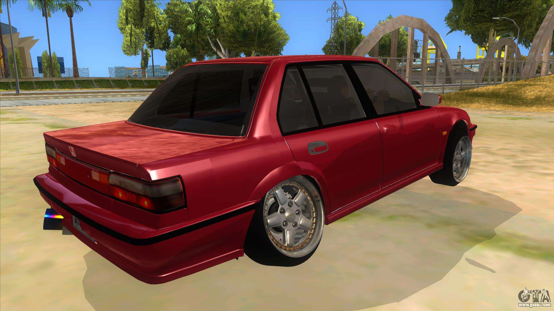 Ef Civic Sedan: Honda Civic Ef Sedan For GTA San Andreas