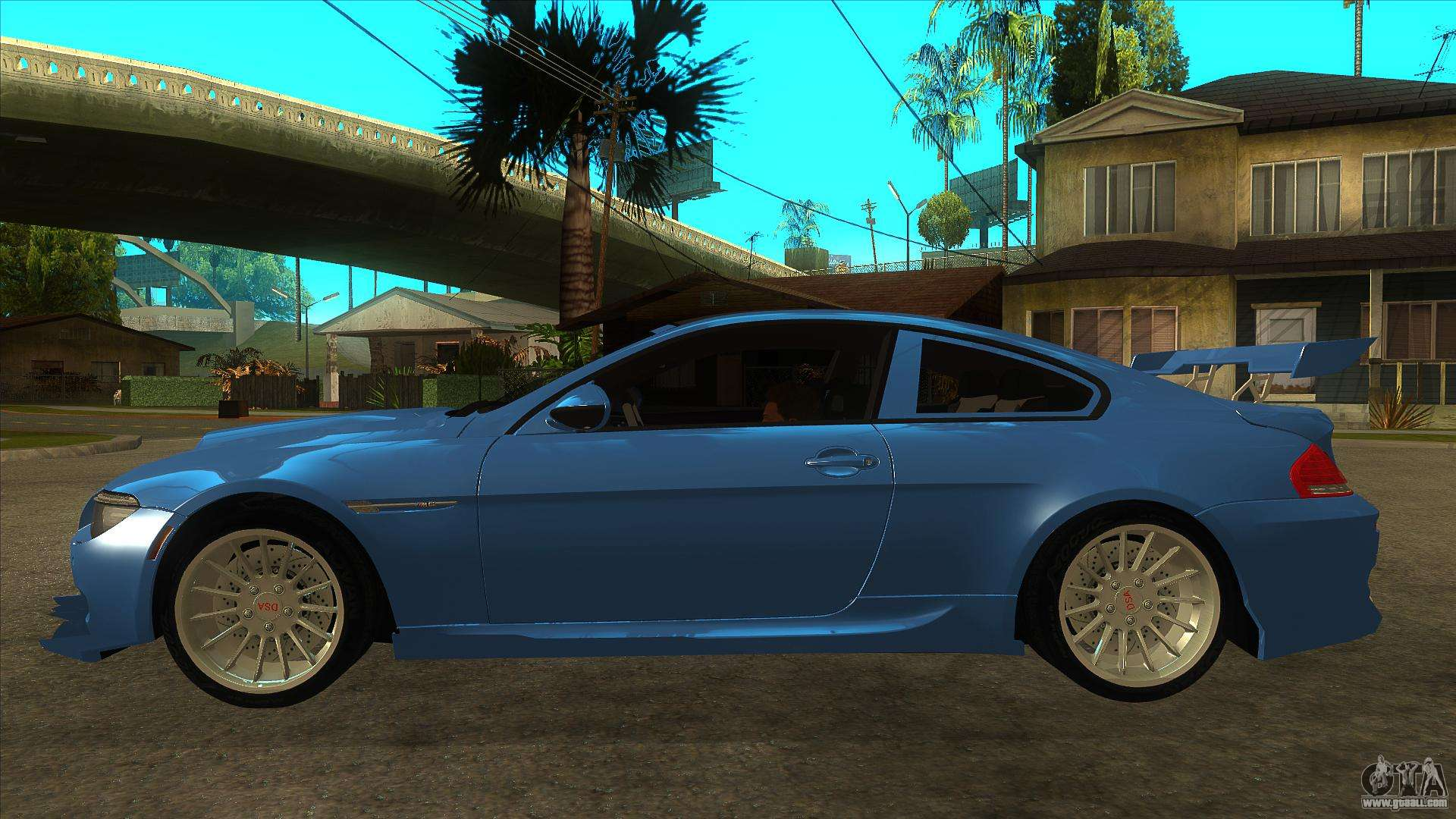 bmw m6 full tuning for gta san andreas. Black Bedroom Furniture Sets. Home Design Ideas