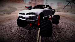Nissan Skyline R34 Monster Truck