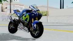 Yamaha YZR M1 2016 for GTA San Andreas