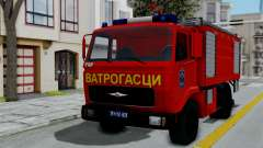 FAP Serbian Fire Truck for GTA San Andreas