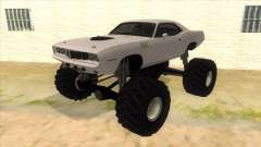 1971 Plymouth Hemi Cuda Monster Truck for GTA San Andreas