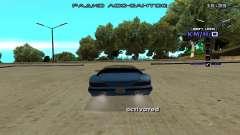 Drift Camera for GTA San Andreas