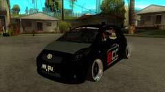 Toyota Yaris (Vitz) [Black Car Community] for GTA San Andreas
