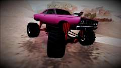 1969 Plymouth Road Runner Monster Truck for GTA San Andreas