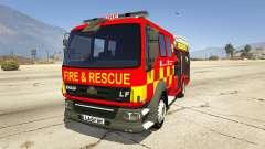 DAF Lancashire Fire & Rescue Fire Appliance
