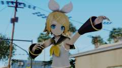 Project Diva F2 - Kagamine Rin (Costume 1) for GTA San Andreas