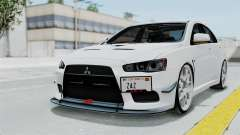 Mitsubishi Lancer Evolution X GSR Full Tunable for GTA San Andreas