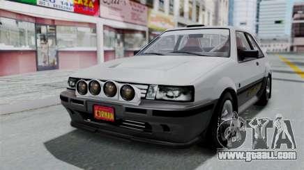 GTA 5 Karin Futo Rally Car v2.0 for GTA San Andreas