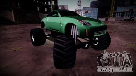 Nissan 350Z Monster Truck for GTA San Andreas