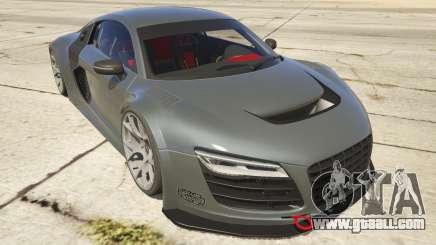 Audi R8 LMS Street Custom for GTA 5