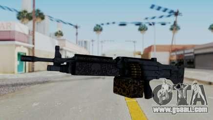 GTA 5 Online Lowriders DLC Combat MG for GTA San Andreas