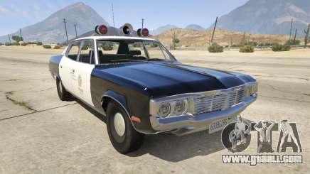 1972 AMC Matador LAPD for GTA 5