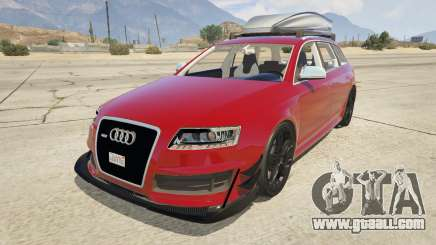 Audi RS6 Avant C6 2009 for GTA 5
