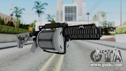 GTA 5 Grenade Launcher - Misterix 4 Weapons for GTA San Andreas