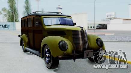 Ford V-8 De Luxe Station Wagon 1937 Mafia2 v1 for GTA San Andreas