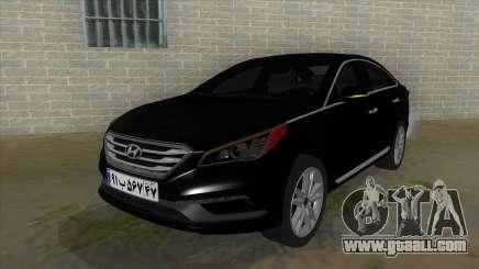 Iranian Hyundai Sonata Turbo for GTA San Andreas