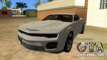 Chevrolet Camaro DOSH tuning MQ for GTA San Andreas
