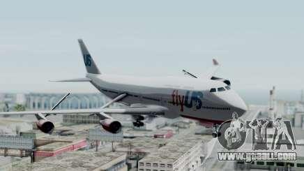 GTA 5 Jumbo Jet v1.0 FlyUS for GTA San Andreas