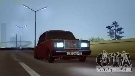 VAZ 2107 NNBPAN for GTA San Andreas