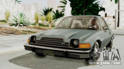 AMC Pacer 1978 IVF for GTA San Andreas