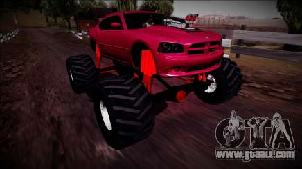 2006 Dodge Charger SRT8 Monster Truck for GTA San Andreas
