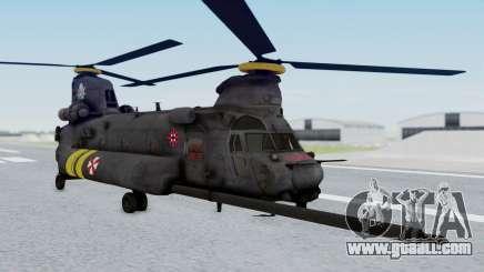 MH-47 Umbrella U.S.S for GTA San Andreas