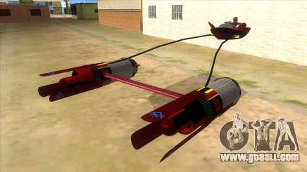 StarWars Anakin Podracer for GTA San Andreas