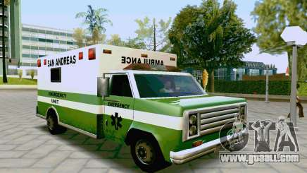 Journey Ambulance for GTA San Andreas