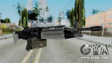 GTA 5 Combat MG - Misterix 4 Weapons for GTA San Andreas
