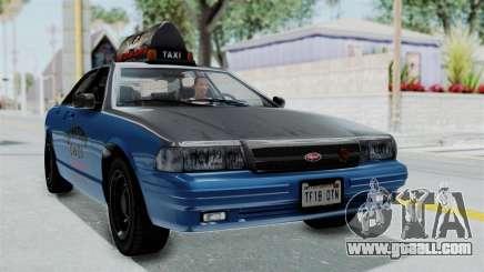 GTA 5 Vapid Stanier II Taxi IVF for GTA San Andreas