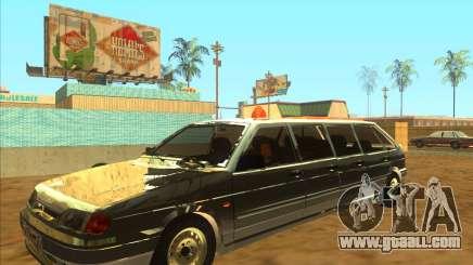 VAZ 2114 9-door for GTA San Andreas