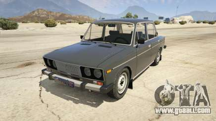VAZ 2106 Burgundy for GTA 5
