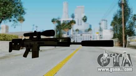 SCAR-20 v2 Supressor for GTA San Andreas