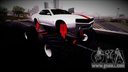 GTA 5 Bravado Gauntlet Monster Truck for GTA San Andreas