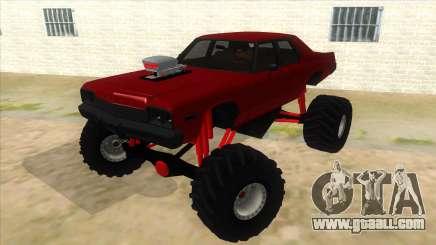 1974 Dodge Monaco Monster Truck for GTA San Andreas