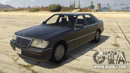 Mercedes-Benz S600 (W140) [Replace] v1.1 for GTA 5