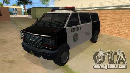 GTA 5 Burrito Transport for GTA San Andreas