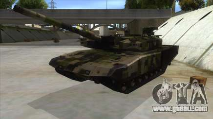 MBT52 Kuma for GTA San Andreas
