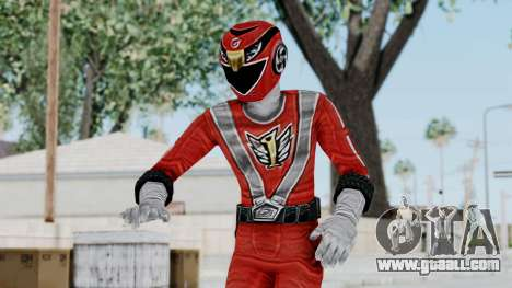 Power Rangers RPM - Red for GTA San Andreas