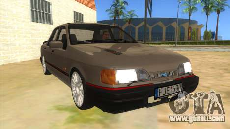 Ford Sierra Sapphire Cosworth for GTA San Andreas back view