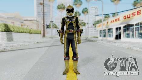 Power Rangers RPM - Gold for GTA San Andreas second screenshot