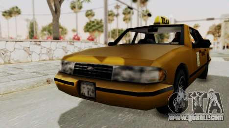 GTA 3 - Taxi for GTA San Andreas