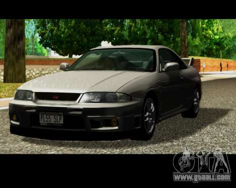 Nissan R33 GT-R Tunable for GTA San Andreas