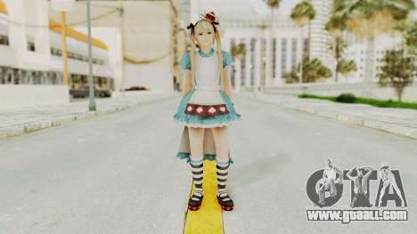 DoA5 LR Marie Rose Halloween 2015 for GTA San Andreas second screenshot
