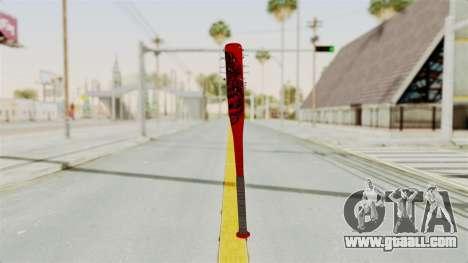 Nail Baseball Bat v2 for GTA San Andreas second screenshot