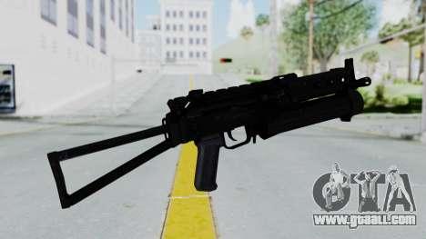 PP-19 BIZON for GTA San Andreas second screenshot