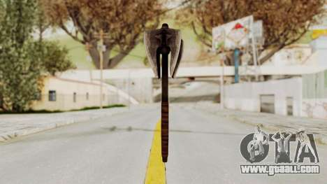 Skyrim Iron Mace for GTA San Andreas