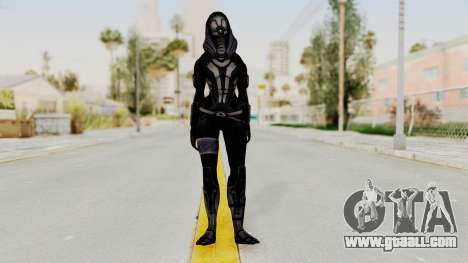 Mass Effect 3 Tali Zorah Armor DLC for GTA San Andreas second screenshot