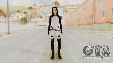 Mass Effect 3 Miranda for GTA San Andreas second screenshot